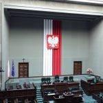 Kräfteverteilung im Sejm