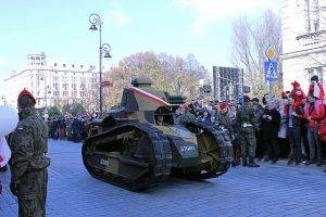 Panzer Renault FT 17 // (cc) Lukas Plewnia / Polen Heute [CC BY-SA 2.0] / Flickr