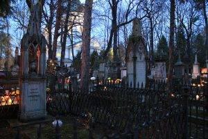Powazki Friedhof in Warschau
