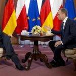 Ukraine: Merkel trifft Tusk in Warschau