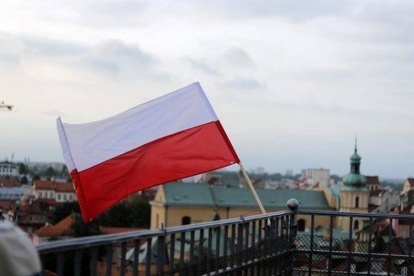 Polnische Flagge