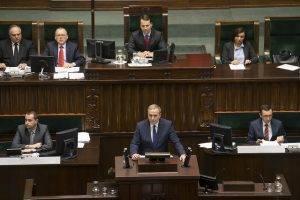 Grzegorz Schetyna im Sejm // (cc) M. Śmiarowski/KPRM [CC BY-NC-ND 2.0] / Flickr