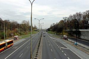 Straße in Warschau