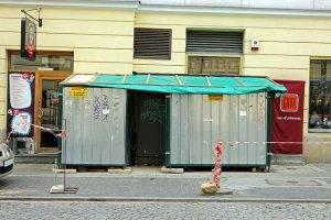 Baustelle in Warschau