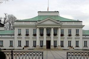 Das Warschauer Belveder, Sitz des polnischen Präsidenten