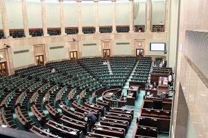 Plenarsaal im Sejm