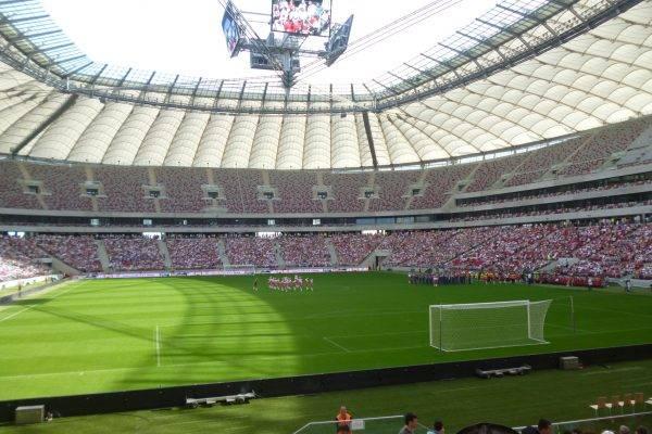 Im Warschauer Nationalstadion // (cc) Lars Leschewitz [CC-BY-SA 3.0] / polen-heute.de