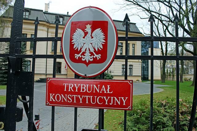 Verfassungsgericht in Warschau