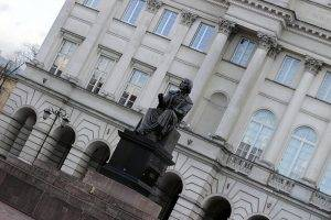 Kopernikus-Denkmal in Warschau