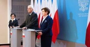 Witold Waszczykowski und Beata Szydlo