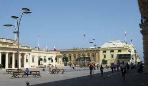 Republic Square, Valletta, Malta // (cc) Lars Leschewitz [CC BY-SA 3.0] / polen-heute.de