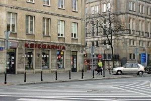 Buchhandlung in Warschau