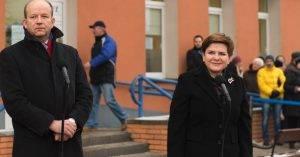 Konstanty Radziwill und Beata Szydlo