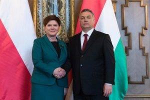 Beata Szydlo und Viktor Orban