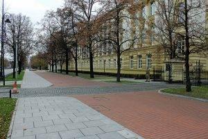 Sitze der Premierministerin in Warschau
