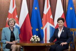 Theresa May und Beata Szydlo