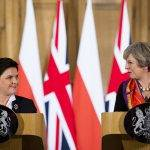 Beata Szydlo in Großbritannien