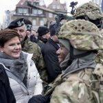 US-Militär in Polen angekommen