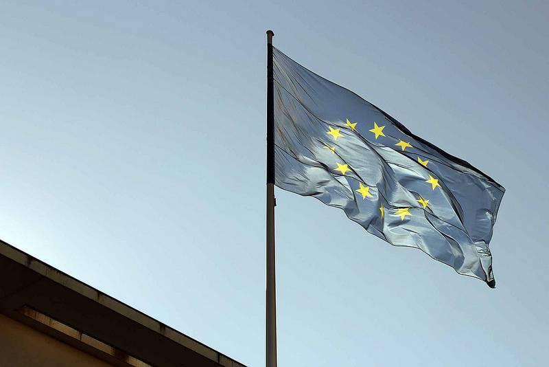 Flagge Europas