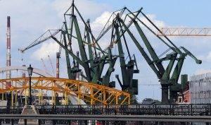 Werft in Danzig - Küste Polens